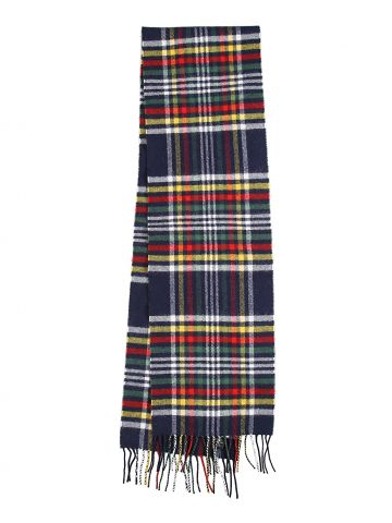 Hudson's Bay x Johnstons of Elgin Checked Wool Scarf